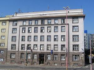 Academy of sciences - Slovak Academy of Sciences (Presidium Building).
