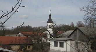 Slovenska Vas, Pivka - Image: Slovenska Vas Pivka 1