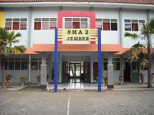 Sma Negeri 2 Jember Wikipedia Bahasa Indonesia Ensiklopedia Bebas