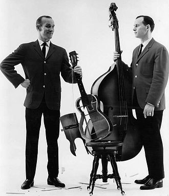 The Smothers Brothers Show - Tom and Dick Smothers, 1965.