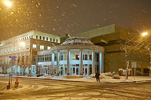 Eastern Virginia Medical School - Image: Snow! 36
