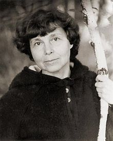 Description de l'image Sofia Gubaidulina July1981 Sortavala ©DSmirnov.jpg.