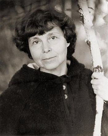 English: Russian composer Sofia Gubaidulina in...