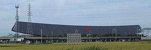 Solar Ark - The Solar Ark inside Sanyo Electric Co., Ltd. Gifu Plant