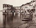 Sommer, Giorgio - Das Donn'Anna Schloss, Napoli (Zeno Fotografie).jpg