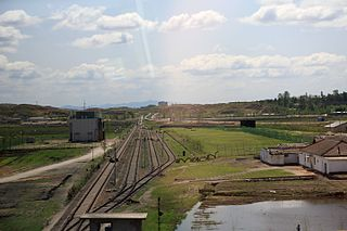 Sonha Station railway station in Kaesong
