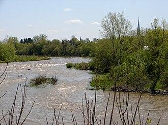 South Nation River - South Nation River at Plantagenet