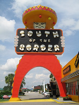 South of the Border (attraction) - Image: South of the Border (attraction) 1