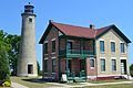 Southport Lighthouse and Keeper's House; Kenosha, Wisconsin; June 9, 2012.JPG