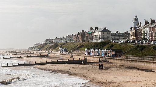 Southwold and the coast as seen from the Pier 20081007