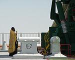 Soyuz TMA-05M rocket blessing.jpg