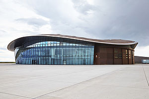 Spaceport America - Spaceport America terminal hangar facility
