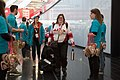 Special Olympics World Winter Games 2017 arrivals Vienna - Canada 05.jpg