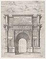 Speculum Romanae Magnificentiae- Arch of Titus MET DP870483.jpg