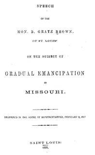 Gradual emancipation (United States)