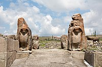 Sphinx Gate, Alaca Höyük 02.jpg