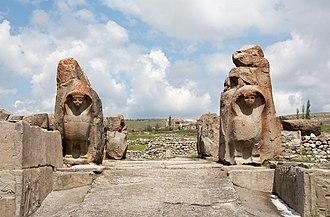 Alaca Höyük - The Sphinx Gate
