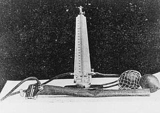Nikolai Korotkov - Mercury sphygmomanometer that belonged to Korotkoff.