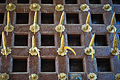 Spikes in the door of Udaipur City Palace,Rajasthan.jpg