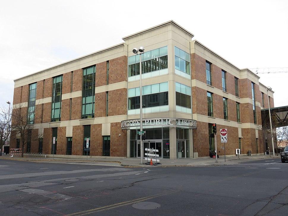 Spokane Public Library 2018