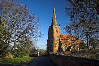 Shustoke village in the United Kingdom