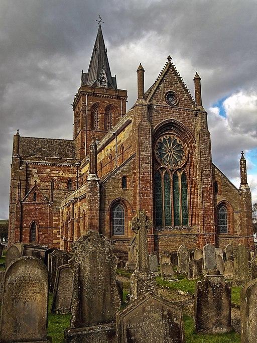 St. Magnus Cathedral in Kirkwall