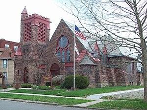 St. Stephen's Episcopal Church (Olean, New York) - St. Stephen's Episcopal Church Complex, April 2010