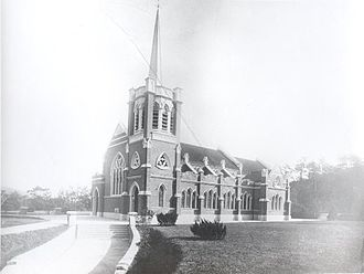 St Andrew's Church, Kowloon - St Andrews c.1906
