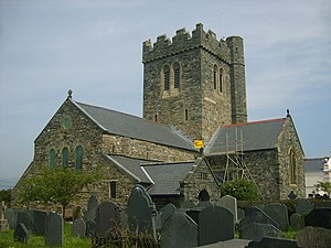 Tywyn - St Cadfan's Church, Tywyn