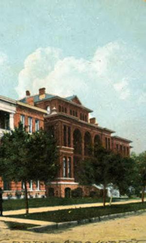 St. Joseph Medical Center (Houston, Texas) - St. Joseph's Infirmary (1908)