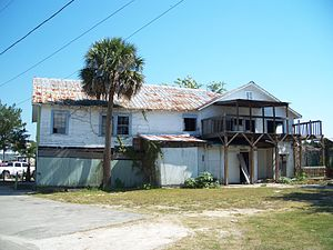 St. Marks, Florida - Posey's Bar, in 2010 before it was torn down
