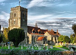St Mary's Church, Beddington - geograph.org.uk - 1212624