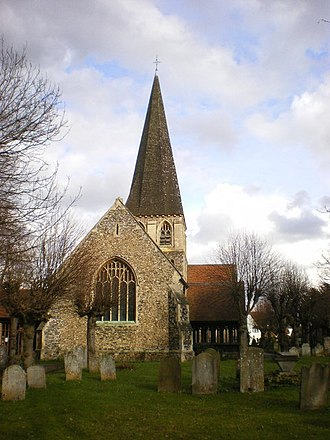 Harlow - St Mary's Church, Churchgate Street