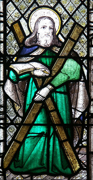 National symbols of Scotland - Image: St Neot Cornwall 018