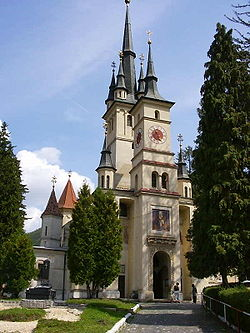 St Nicholas church in Brasov.JPG