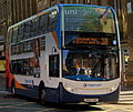 Stagecoach bus 19673 (NK60 DNU), Newcastle upon Tyne, 7 November 2013.jpg
