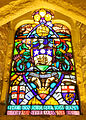 Stained glass windows in Crypt, Guildhall, City of London (10).jpg