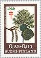 Stamp of Finland - 1969 - Colnect 46553 - European Aspen Populus tremula.jpeg