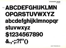 Ag Book Stencil Bq-medium