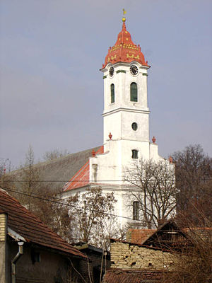 Stara Moravica - The Calvinist church.