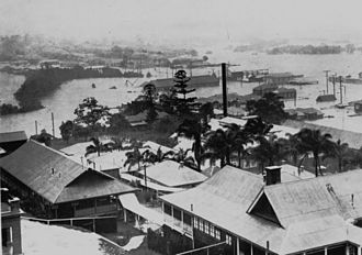 Windsor, Queensland - Flooding in 1931