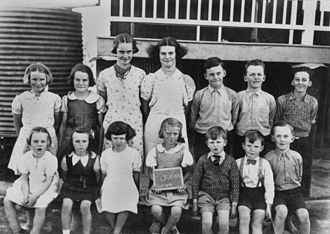 Student - Students of Stony Creek State School, Queensland, 1939