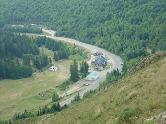 Ascou - Pailhères ski station in summer