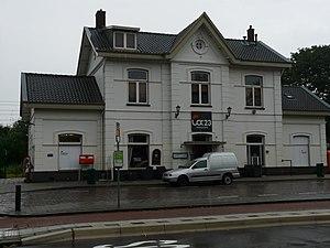 Zevenbergen railway station - Image: Station Zevenbergen P1050160