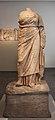 Statua della sacerdotessa nikeso su base originale, da santuario di demetra a priene, 300-250 ac ca. 01.JPG