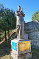 Statue de Sri Chinmoy face à lHimalaya (Région de Nagarkot) (8450040489).jpg