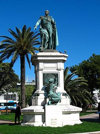 Albert-Ernest Carrier-Belleuse - Monument to André Masséna Nice, 1869