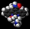 Staurosporine molecule spacefill.png