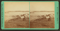 Steam mill and Indian Point, from Prospect Hill, Newport, Vt, by Clifford, D. A., d. 1889 2.png