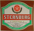Sternburg Exportbier, Etikett der Sternburgbrauerei auf ungarisch.jpg
